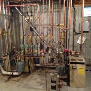 Lochinvar Heating Renovation Before