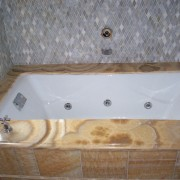Kohler Tea for Two Bath Tub Pinstripe Valve