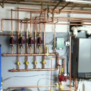 Lochinvar Knight Boiler with Mega Stor Indirect