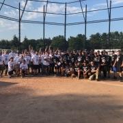 Company softball game