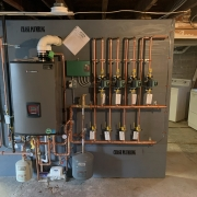 Lochinvar Noble combination boiler and water heater